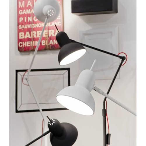 Vloerlamp Nottingham - Wit