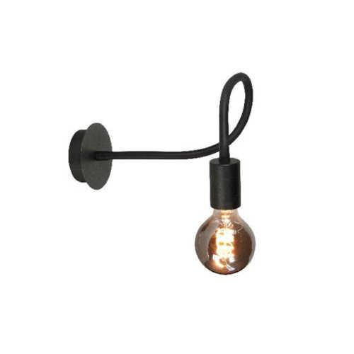 Wandlamp Flex - Mat zwart