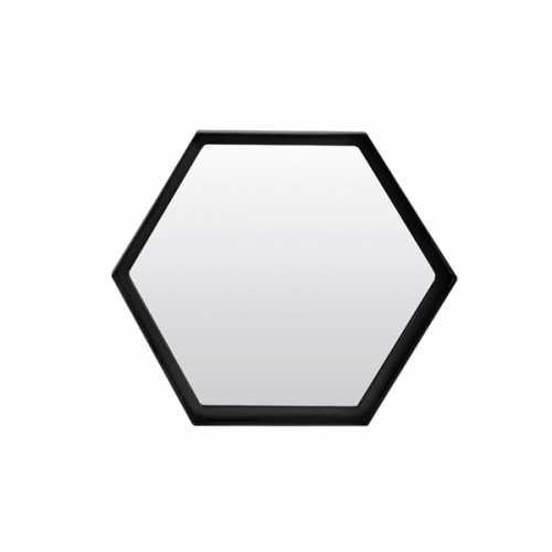 Spiegel 35x3,5x31cm STELVIO - Mat zwart