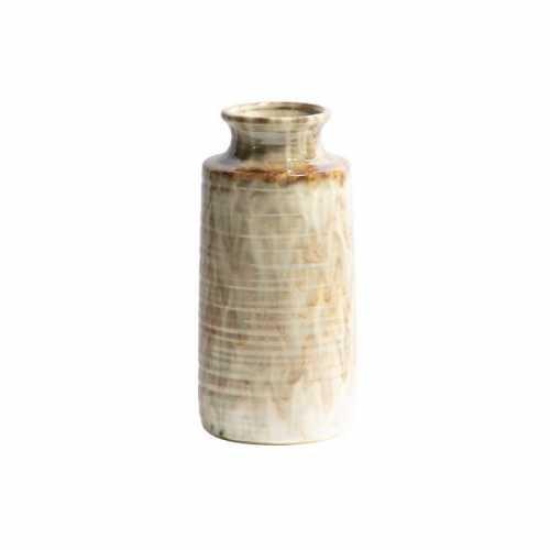 BePureHome Vaas keramiek Decennia 14x14x30cm - Nougat