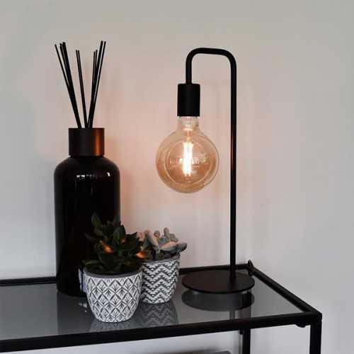 CALEX Tafellamp U-Line - Zwart
