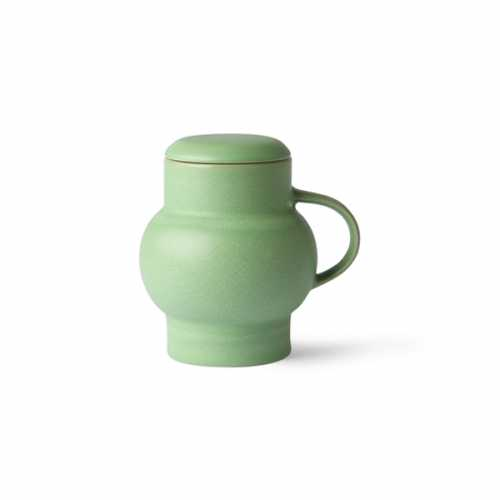 HKliving Bubble theemok L keramiek - Mint Green