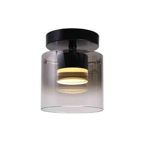 Plafondlamp Salerno LED - Mat Zwart