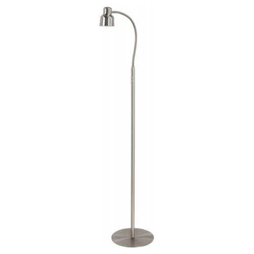 Vloerlamp Flexy LED dimbaar - Nikkel