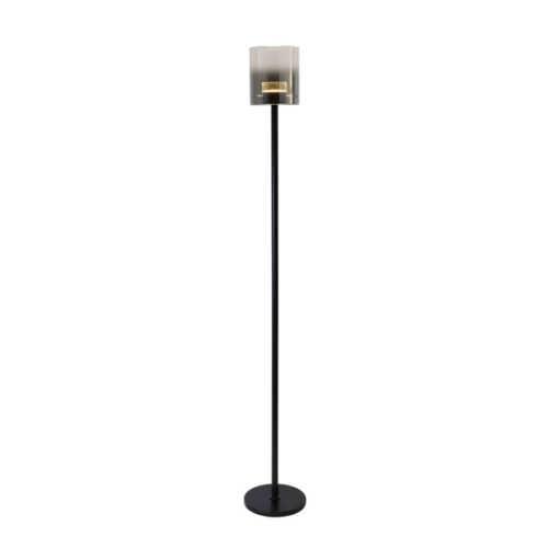Vloerlamp Salerno LED - Mat Zwart