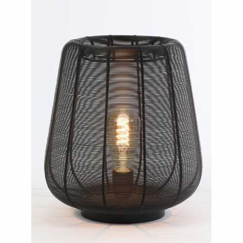 Tafellamp 29x31,5 cm ADETA - Mat zwart