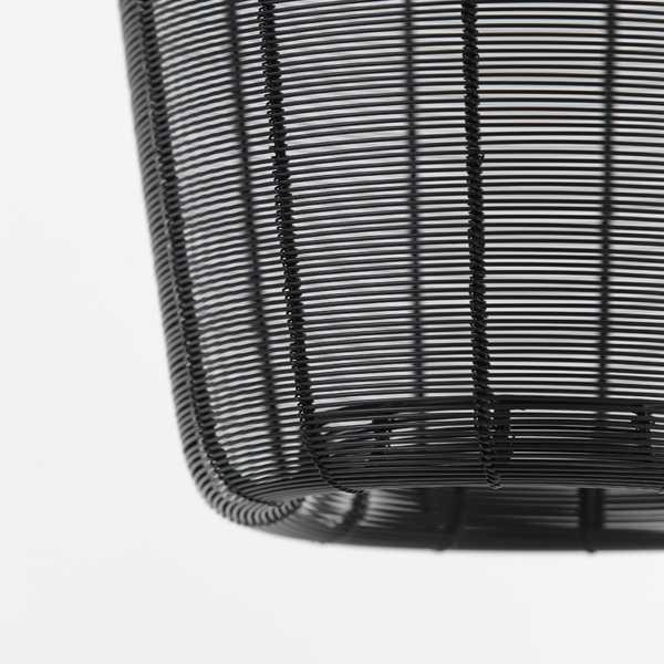 Hanglamp 23x25 cm ADETA - Mat zwart