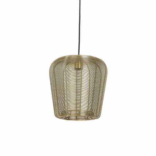 Hanglamp 28x30cm ADETA - Goud