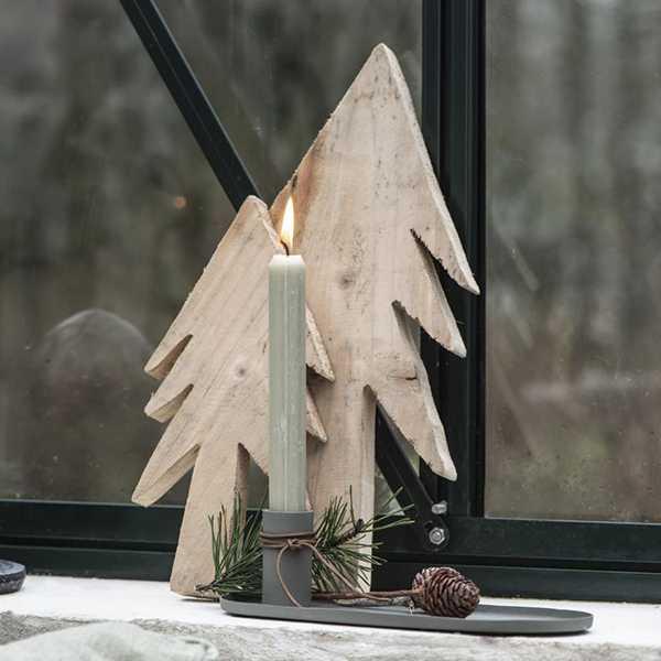 IB Laursen Houten kerstboom - 35cm