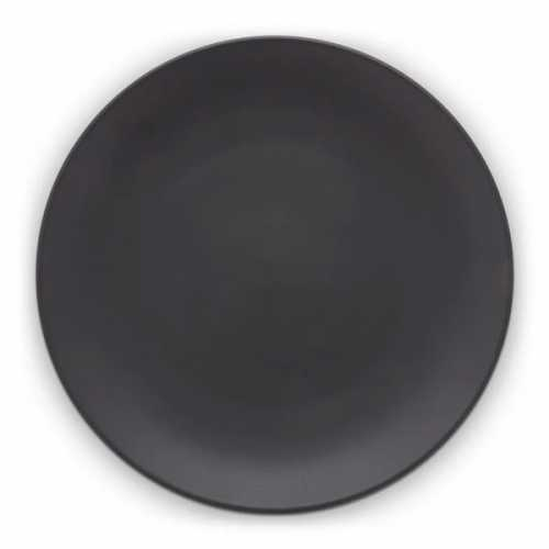 vtwonen Dinerbord 25,5cm - Zwart