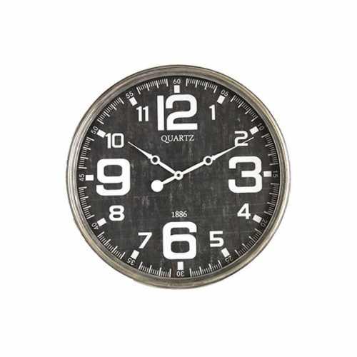 Klok rond Louis S 48,5cm - Zwart