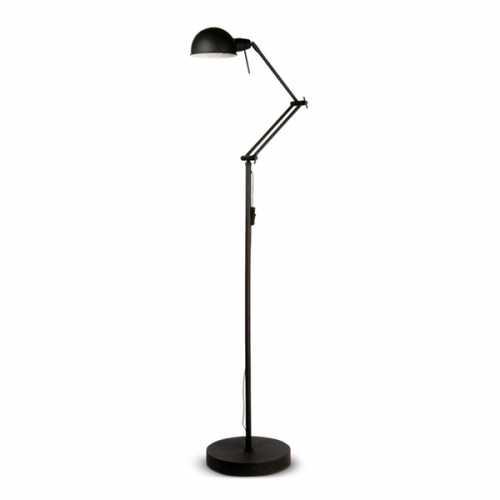Vloerlamp Glasgow - Zwart