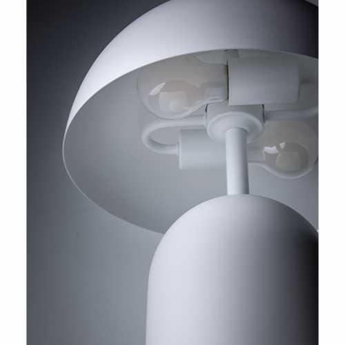 Tafellamp Bobby metaal - Wit