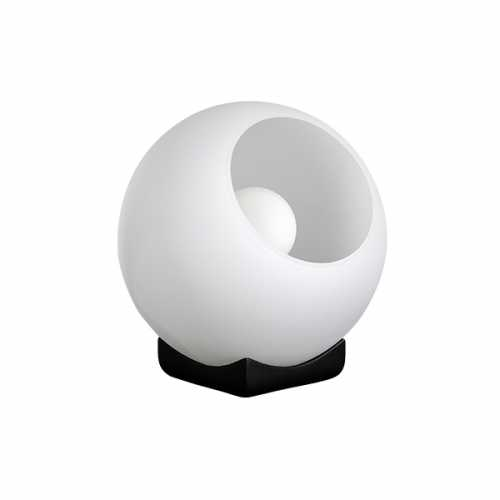 Tafellamp Orb 30cm - Smoke glas