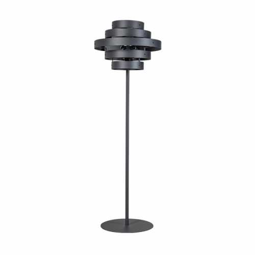 Vloerlamp Blagoon 5-ringen - Antraciet