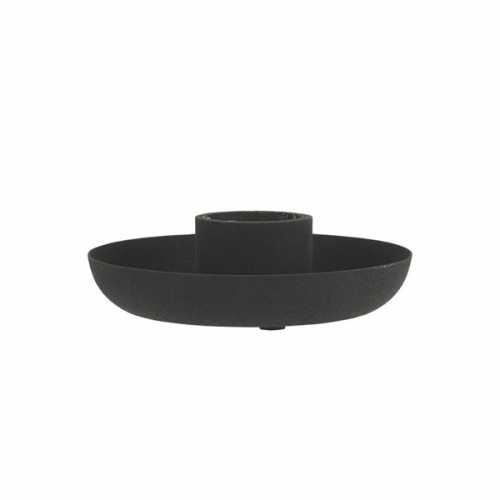 IB Laursen Kaarsenhouder voor kaars van 3,8cm - Zwart