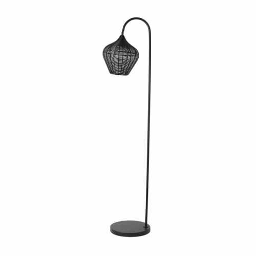 Vloerlamp ALVARO - Mat zwart