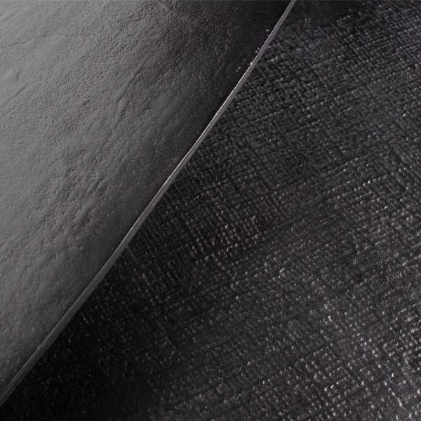 BePureHome Set/2 Triangle bijzettafels - Zwart Nikkel