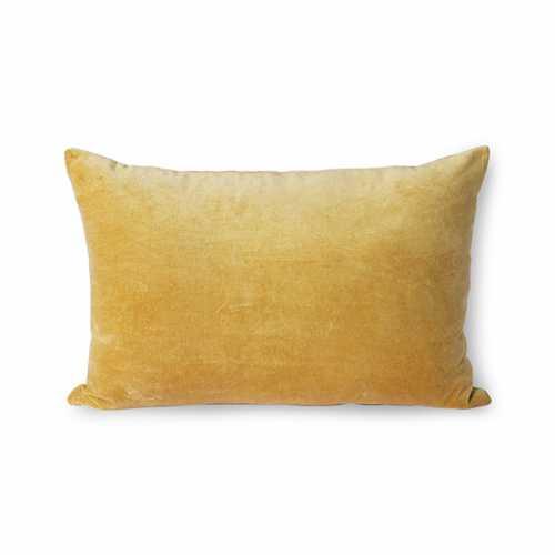 HKliving Sierkussen velvet 40x60cm - Gold