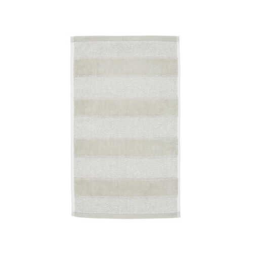Sheer Stripe Gastendoek (30x50cm) - Zand
