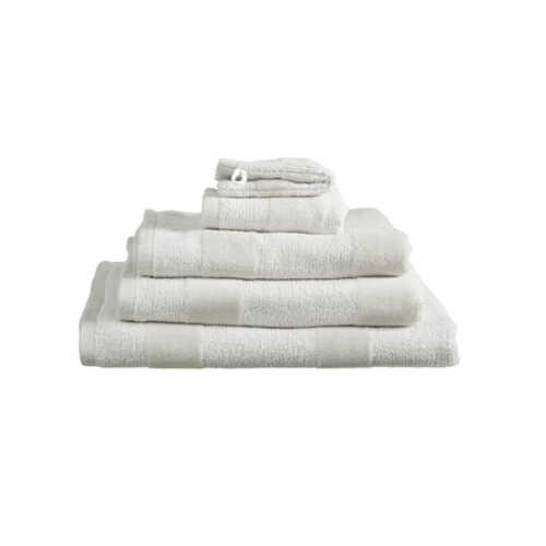 Sheer Stripe Handdoek Medium (50x100cm) - Zand