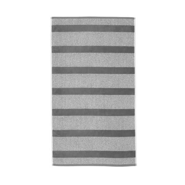 Sheer Stripe Handdoek Large (60x110cm) - Antraciet