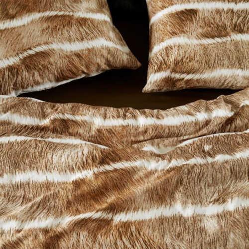 At Home dekbedovertrek Feston Natural - 140x200/220cm
