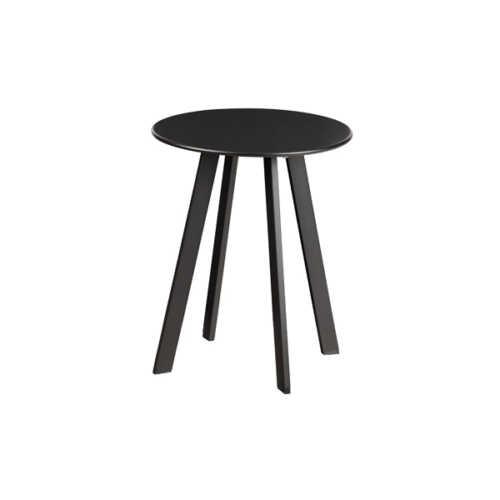 WOOOD Bijzettafel Fer metaal 40cm - Zwart