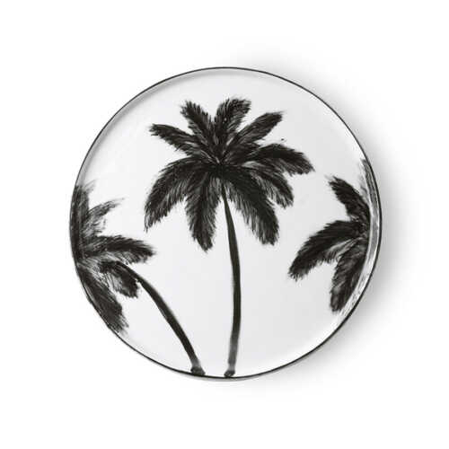 HKliving Jungle dinerbord Palms