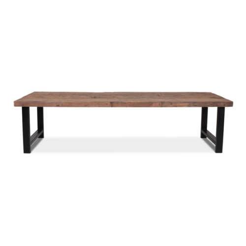 Eettafel Stef gerecycled hout - 300x95cm