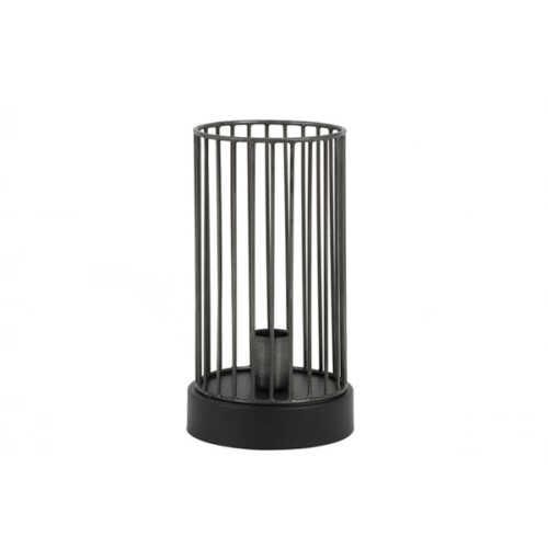 Tafellamp 16x30cm JORIM zink - Mat Zwart