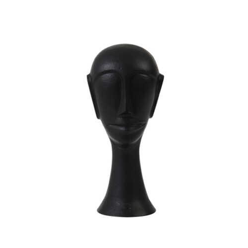Ornament HEAD 22,5cm - Zwart