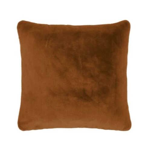 ESSENZA Furry sierkussen 50x50cm - Leather Brown
