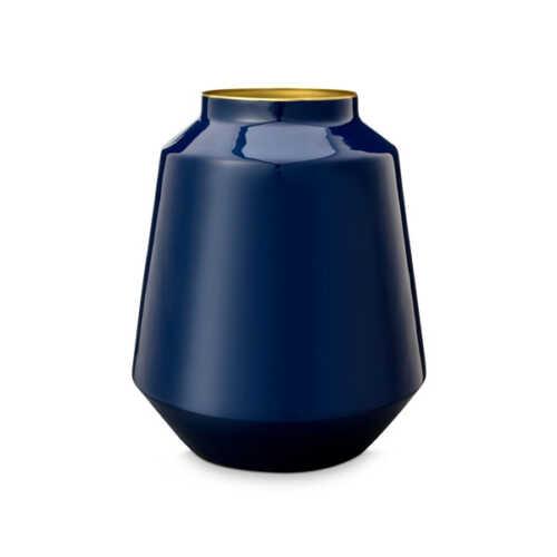 Pip Studio Vaas metaal 29cm - Blauw