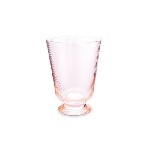 Pip Studio Waterglas Twisted - Roze