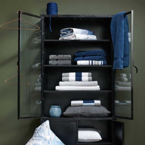 Vandyck RANGER Handdoek (68x127cm) - Jeans Blue