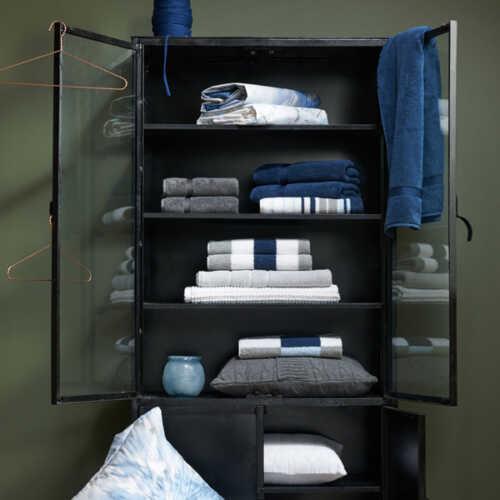 Vandyck VANCOUVER Washandje (16x22cm) - Jeans Blue