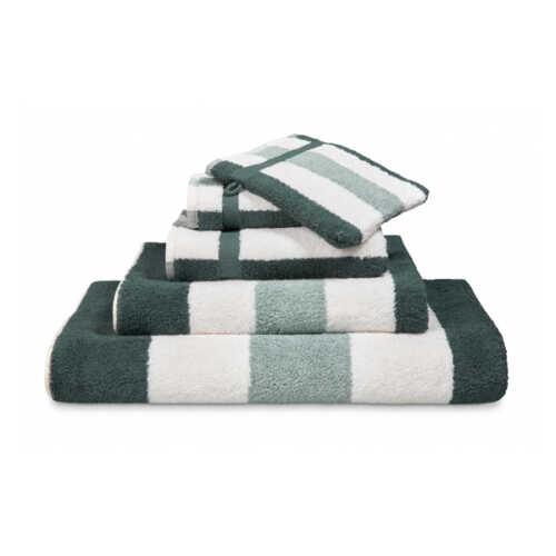 Vandyck VANCOUVER Handdoek (55x100cm) - Earth Green