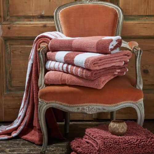 Vandyck VANCOUVER Handdoek (68x127cm) - Marsala
