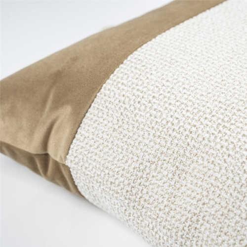 Sierkussen Nett 45x45cm - Gold/Off-White