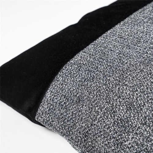 Sierkussen Nett 45x45cm - Black/Anthracite