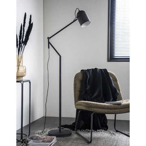 Vloerlamp Sleek - Zwart