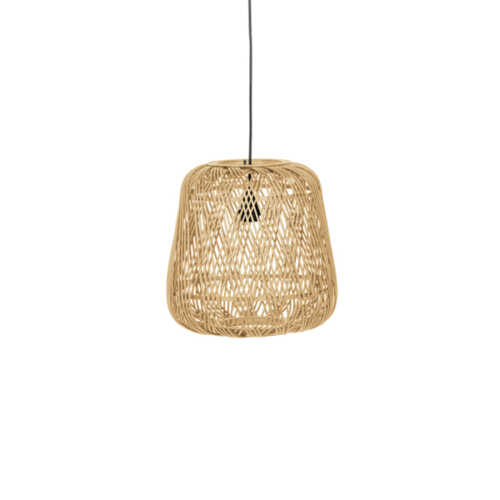 WOOOD Hanglamp Moza bamboe 36cm - Naturel