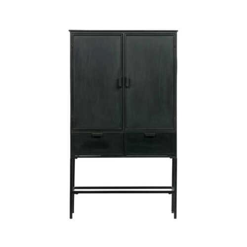 BePureHome 2-deurs Kast Wish metaal - Zwart