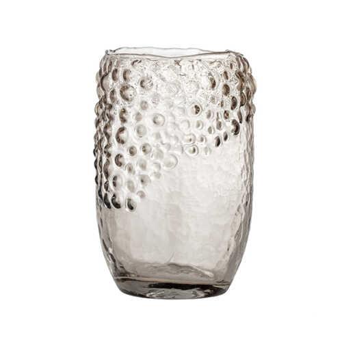 Bloomingville Vaas Emalia glas - Bruin