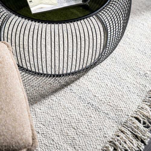 Vloerkleed Woolie 200x290cm - Creme