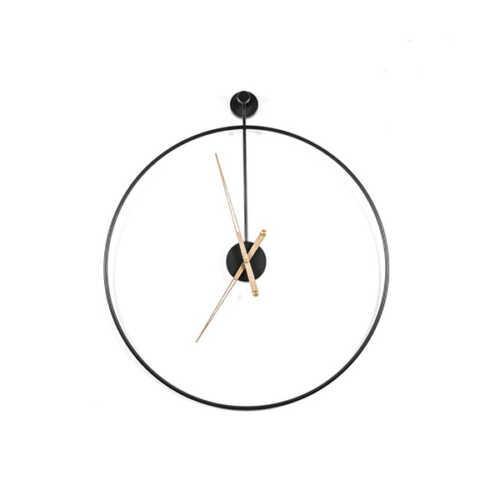 Klok Sundial small - Black