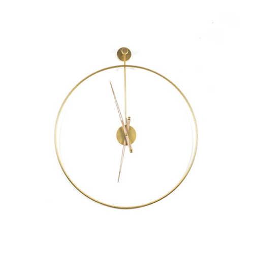 Klok Sundial small - Gold
