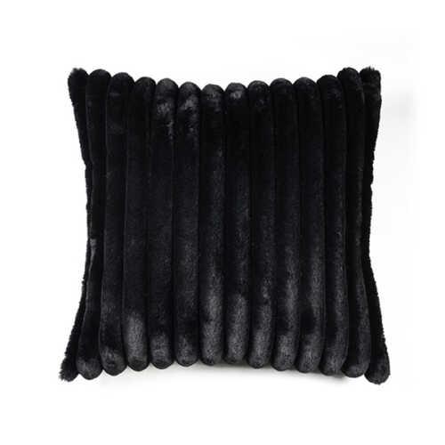 Sierkussen Wuzzy 50x50cm - Black