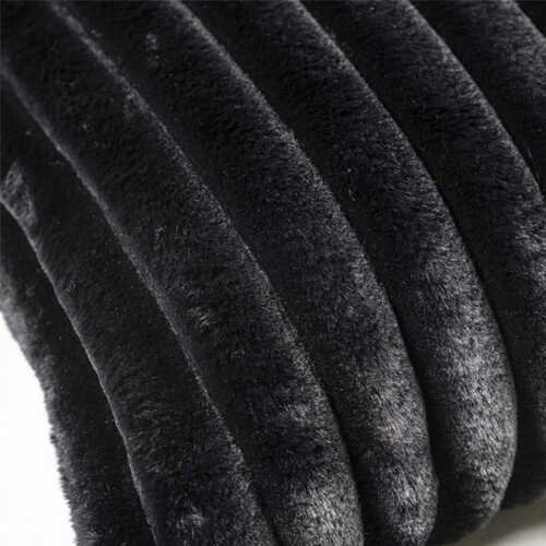 Sierkussen Wuzzy 40x60cm - Black